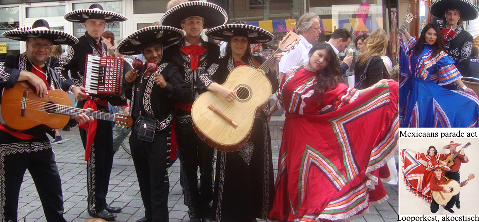 Mexican border Themafeest